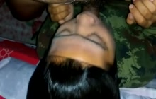 Hot amateur Thai girl giving head