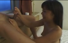 Japanese girl loves to be obedient