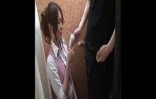 Asian sluts caught sucking dick in the dressing room