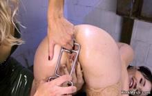 Busty Milf anal bangs young Asian