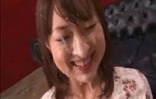 Yukiko Suo receives multiple cum facials