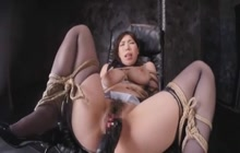 Japanese Big Tit Slave Girl Made To Orgasm