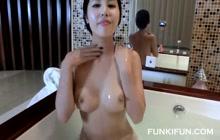 Uncensored masturbation video