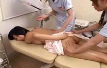 Three Asian sluts in action