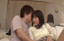 Asian teen seduces her friend's hubby