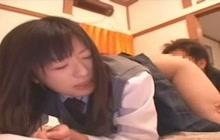 Another Japanese schoolgirl fucked hard